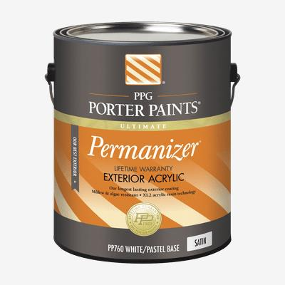 Permanizer Exterior Acrylic Latex Professional Quality Paint Products Ppg