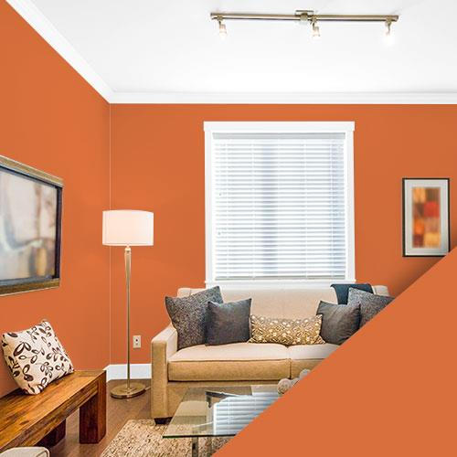 Orange Paint Colors - Interior & Exterior Paint Colors For Any Project