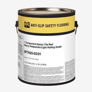 Anti-Slip Safety Flooring System, Single Component