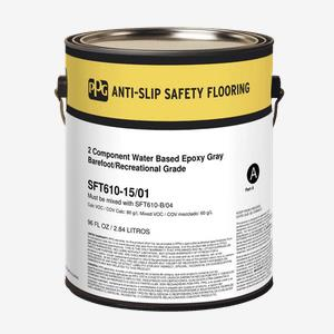 Sistema de seguridad antideslizante para pisos, dos componentes