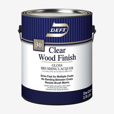 DEFT<sup>®</sup> Interior Clear Brushing Lacquer