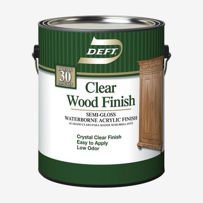 Deft Interior Clear Waterborne Acrylic Wood Finish Professional Quality Paint Products Ppg