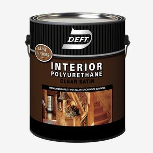 DEFT<sup>&#174;</sup> Interior Oil-Based Polyurethane (350 VOC)