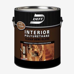DEFT<sup>®</sup> Interior Oil-Based Polyurethane (450 VOC)