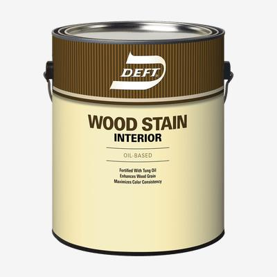 DEFT<sup>®</sup> Interior Oil-Based Wood Stain