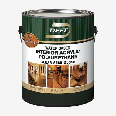 DEFT<sup>®</sup> Interior Water-Based Polyurethane Acrylic