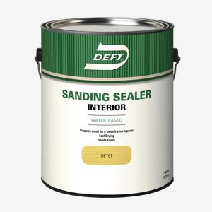 DEFT<sup>®</sup> Interior Water-Based Sanding Sealer