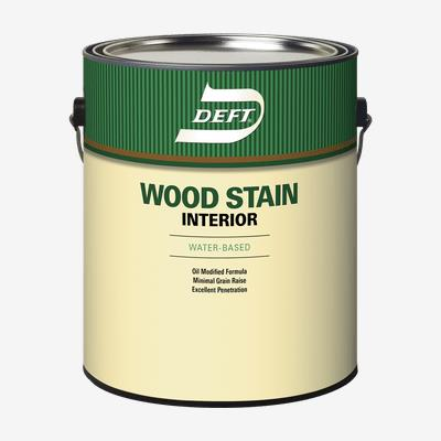 DEFT<sup>®</sup> Interior Water-Based Wood Stain