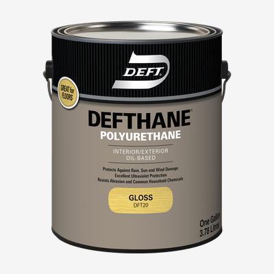 DEFTHANE<sup>®</sup> Interior/Exterior Oil-Based Polyurethane (450 VOC)