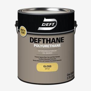 DEFTHANE<sup>&#174;</sup> Interior/Exterior Oil-Based Polyurethane (275 VOC)
