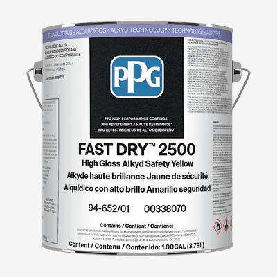Fast dry 2500 interior exterior alkyd professional - How fast does exterior paint dry ...