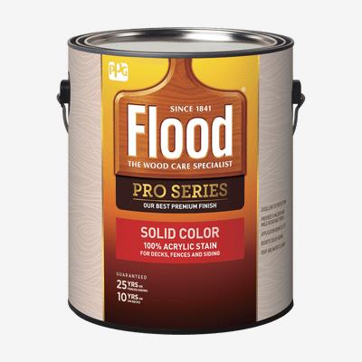 FLOOD<sup>®</sup> PRO 100% Acrylic Stain