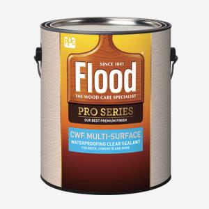 FLOOD<sup>®</sup> PRO CWF<sup>®</sup> Multi-Surface Waterproofing Clear Sealant
