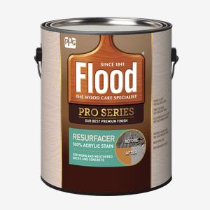 FLOOD<sup>&#174;</sup> PRO Resurfacer 100% Acrylic Stain