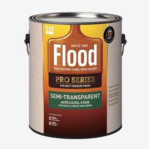 FLOOD<sup>&#174;</sup> PRO Semi-Transparent Acrylic/Oil Stain (100 VOC)