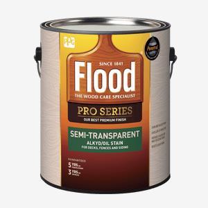 FLOOD<sup>&#174;</sup> PRO Semi-Transparent Alkyd/Oil Stain (550 VOC)