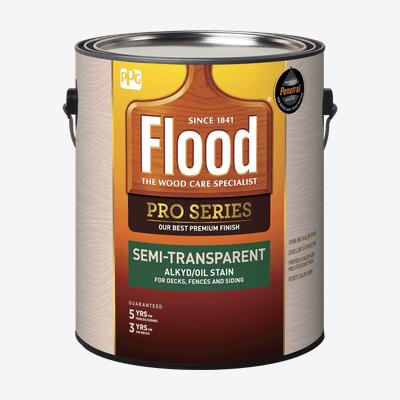 FLOOD<sup>®</sup> PRO Semi-Transparent Alkyd/Oil Stain (550 VOC)