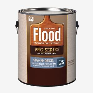 FLOOD<sup>&#174;</sup> PRO SPA-N-DECK<sup>&#174;</sup> 100% Acrylic Finish Top Coat