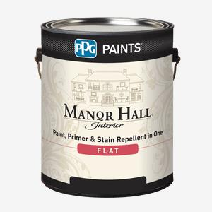 MANOR HALL<sup>&#174;</sup> Interior 100% Acrylic Latex