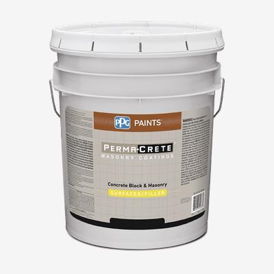 Perma Crete Concrete Block Masonry Surfacer Filler Professional Quality Paint Products Ppg