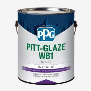 PITT-GLAZE<sup>®</sup> WB1 Interior Pre-Catalyzed Water-Borne Acrylic Epoxy