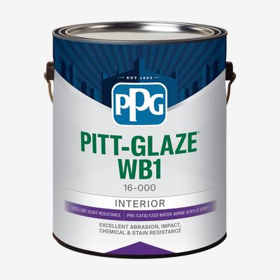Pitt Glaze Wb1 Interior Pre Catalyzed Water Borne Acrylic Epoxy Professional Quality Paint Products Ppg