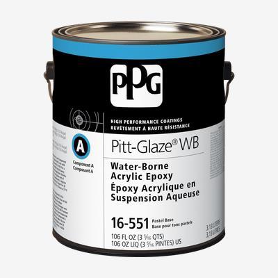 PITT-GLAZE<sup>&#174;</sup> WB Interior Water-Borne Acrylic Epoxy