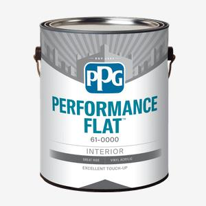 Látex para interiores PPG PERFORMANCE FLAT<sup>™</sup>