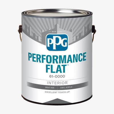 PPG PERFORMANCE FLAT<sup>?</sup> Interior Latex