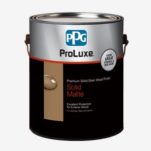PROLUXE<sup>®</sup> Premium Solid Stain Wood Finish