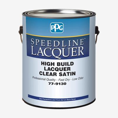 SPEEDLINE<sup>™</sup> High Build Clear Lacquer & Sanding Sealer