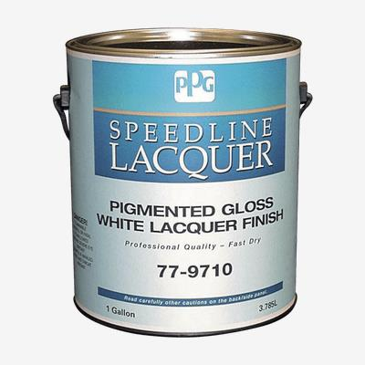 SPEEDLINE™ Pigmented White Lacquer Finish
