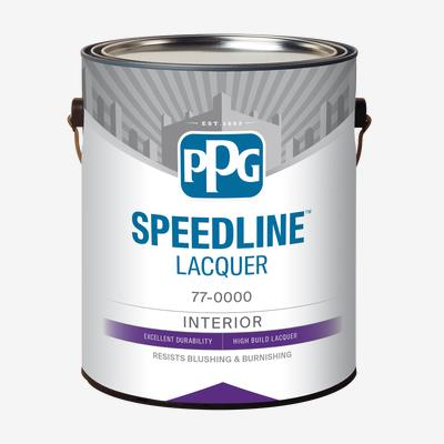 SPEEDLINE<sup>?</sup> Pigmented White Lacquer Finish