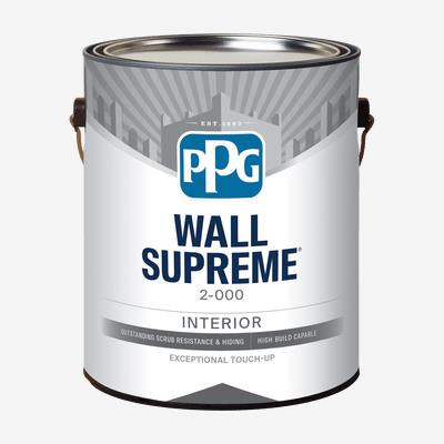 WALL SUPREME Interior Latex - Professional Quality Paint Products - PPG